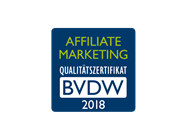BVDW Affiliate Marketing Qualitätszertifikat