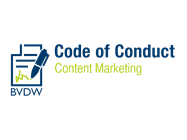 BVDW Code of Conduct Content Marketing Logo