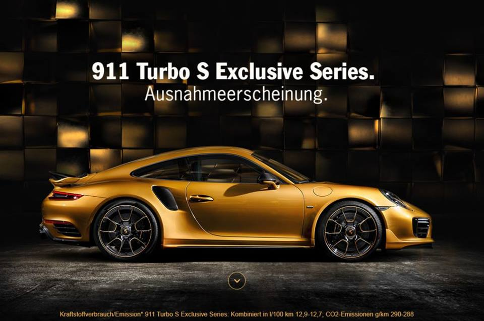 Porsche 911 Turbo S Exklusive Series