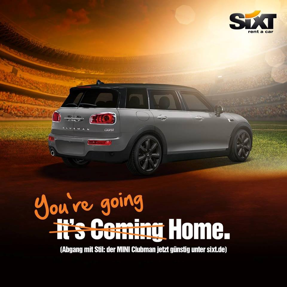 Sixt Werbung Coming Home